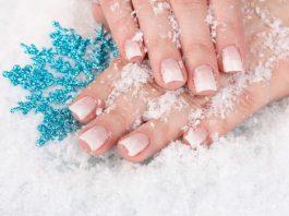 Načina da se pobrinuti za nokte u zimska sezona