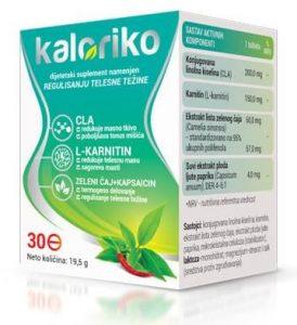 Kaloriko - cena - u apotekama - iskustva - Srbija - gde kupiti